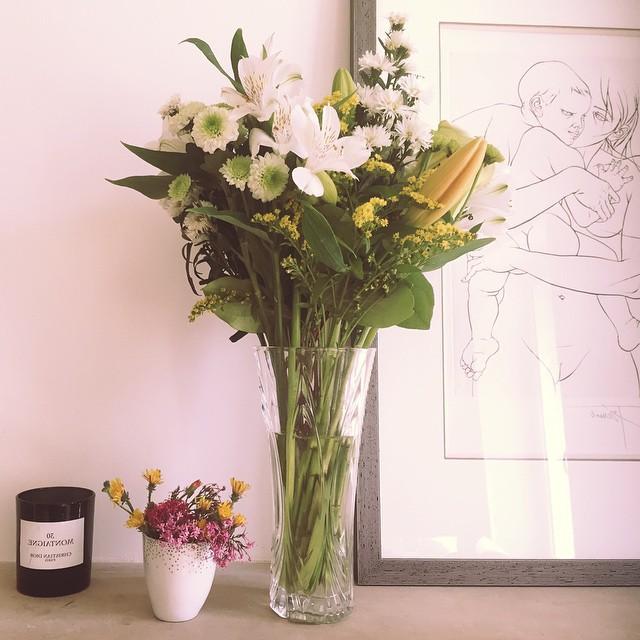 Mini bouquet by Lea  grand bouquet by maman homeofficehellip