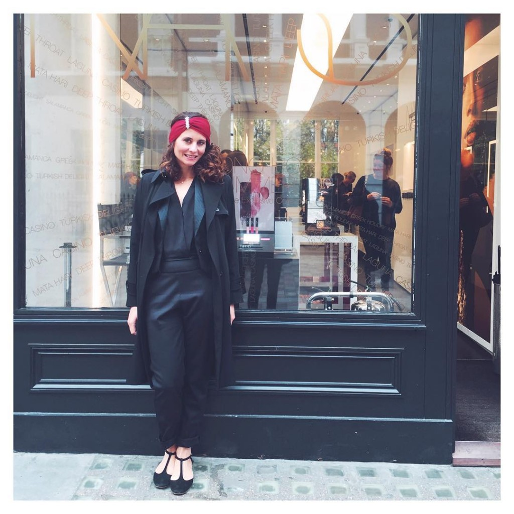 Visite de la premire boutique narsissist  Londres  NARSissisthellip