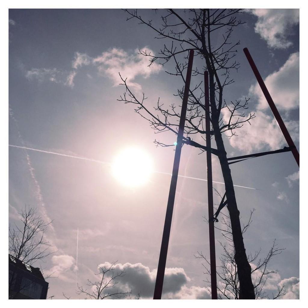 Un big soleil aujourdhui  la Roche sur Yon ohellip