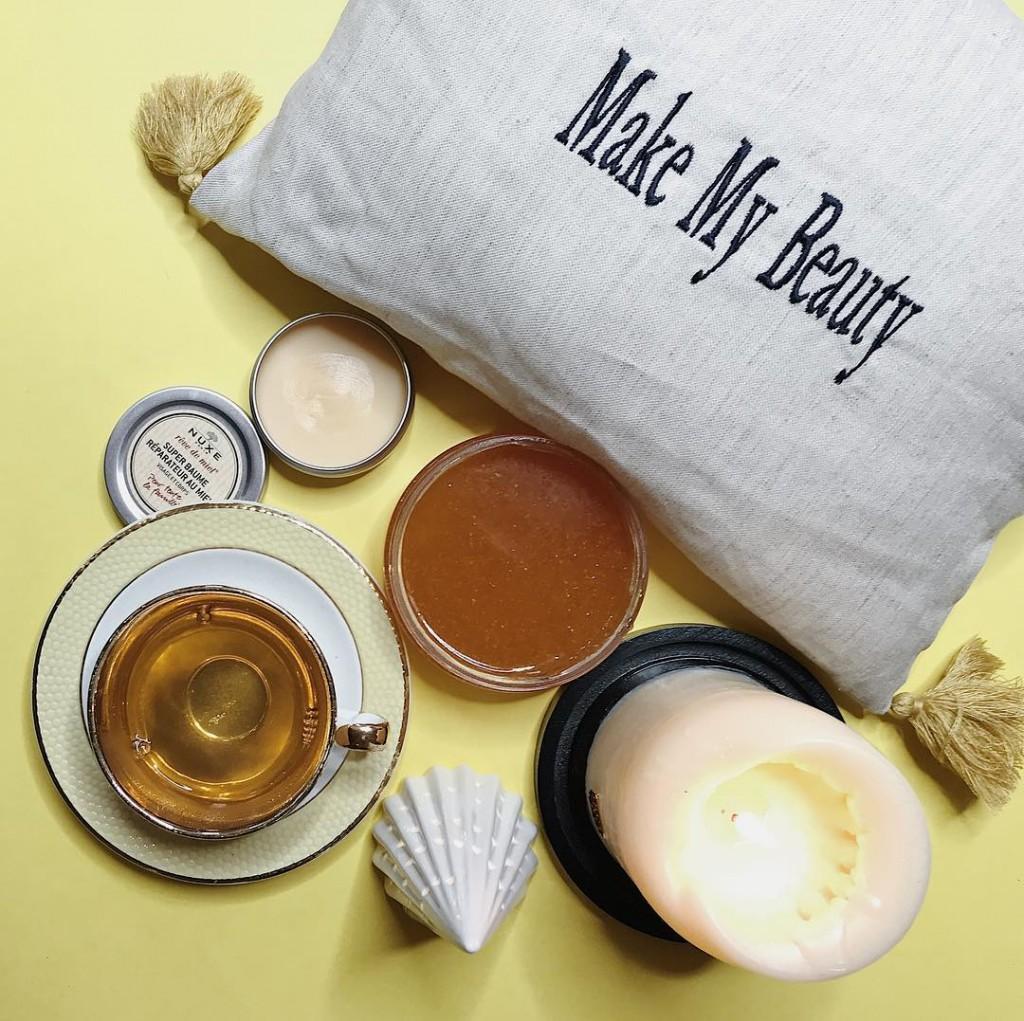 Ambiance texture et parfum cocooning avec les soins gourmands revedemielhellip