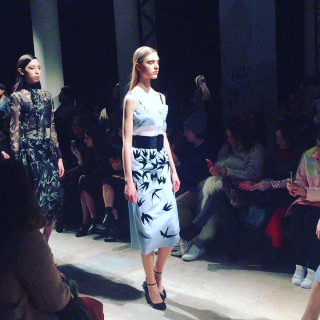 Beautiful romantic poetic show @rochas #pfwfw #makemybeauty #instaoftheday