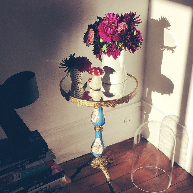 Monday morning light on cramoisi bouquet Fall is comng !hellip
