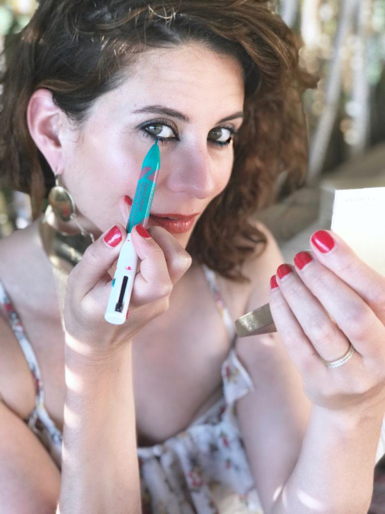 stylo clarins - makeup estival facile